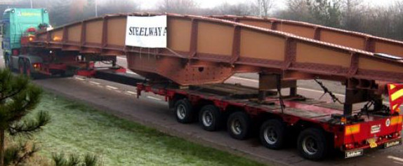 Oversized-load-painted